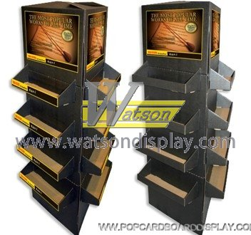 practical double-side  promotion cardboard floor display
