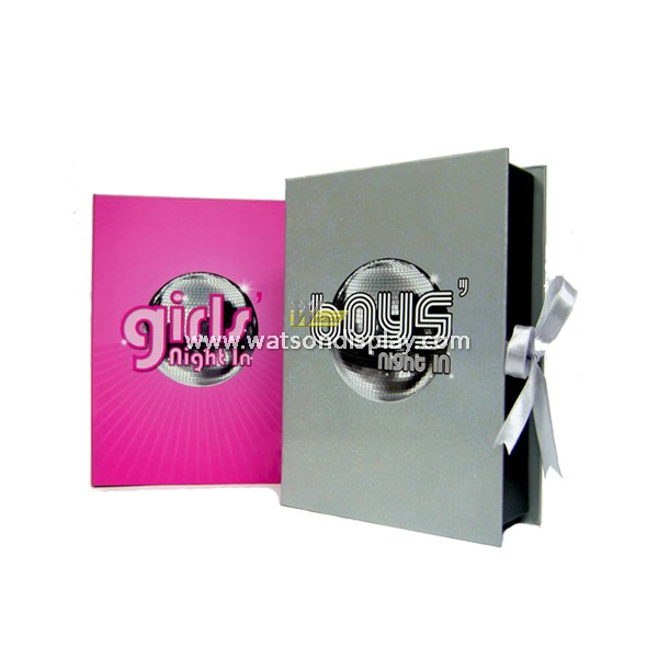 Christmas light packaging gift box for greeting card