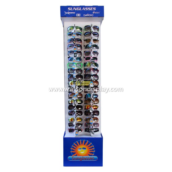 Best promotion retails cardboard sun glass display rack