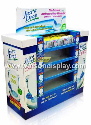 Toiletries promotions pallet display