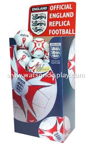 Best price cardboard football display dump bin