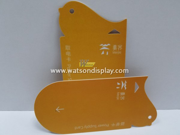 Custom smart plastic family electricity card include main card and secondary card