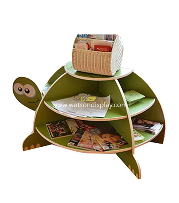 The tortoise modelling of children's books cardboard floor display stands
