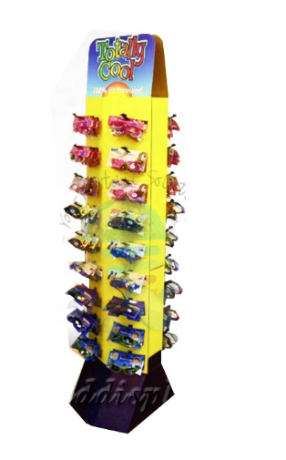 store promotion sunglasses cardboard display stand